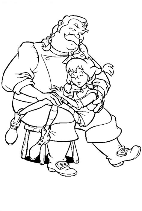 Coloring Pictures by Pippi Longstocking Coloring Pages