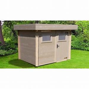 Abris bois toit plat pas cher for Abri de jardin bois pas cher leroy merlin 3 tonnelle de jardin 4 x 4