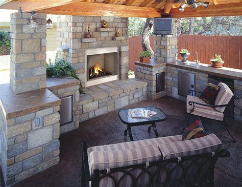 lawn garden contemporary outdoor fireplace ideas