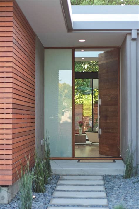 Front Entrance Doors by 8 Best Modern Wood Front Doors Images On