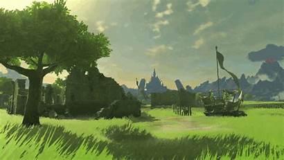 Zelda Breath Wild Legend Gifs Botw Environmental