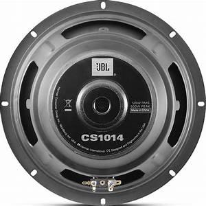 Jbl Cs1014 10 U0026quot  500 Watts Power Single 4