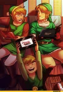 Beautiful Legend of Zelda Link