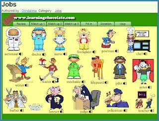 Pin Occupations Vocabulary List Of And Professions On Pinterest