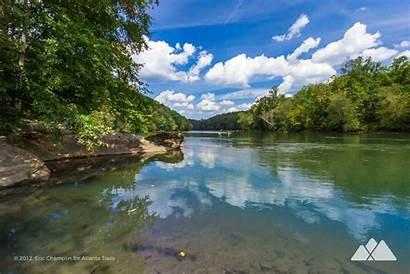 River Chattahoochee Atlanta Trails Georgia Hiking Near