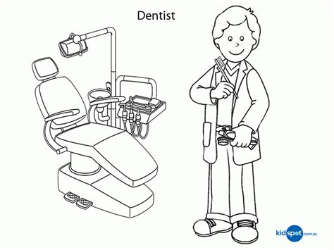 dental health coloring pages kids coloring home