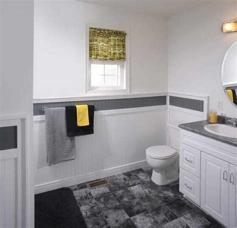 bathroom ideas with wainscoting bloombety with wainscoting in bathroom ideas floor tile