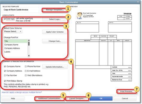 customize form templates