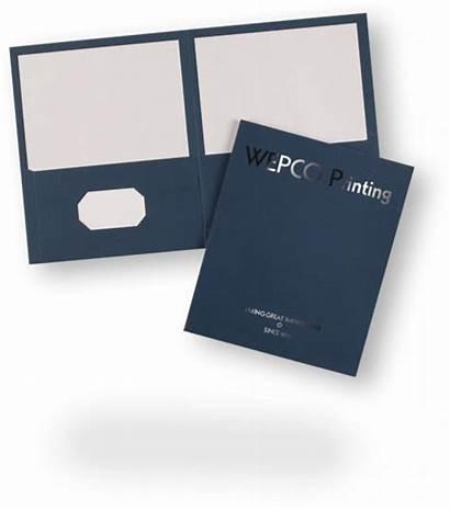 Pocket Folders Printing Wepco