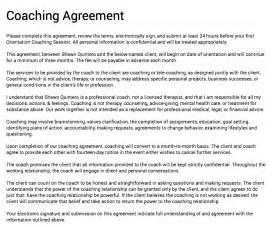 wedding fans template doc 500647 coaching contract template coaching