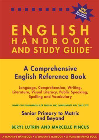 english handbook  study guide buy   south