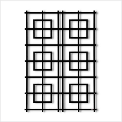 Rankgitter Metall Modern by Garten Im Quadrat Wandspalier Modernes Rankgitter