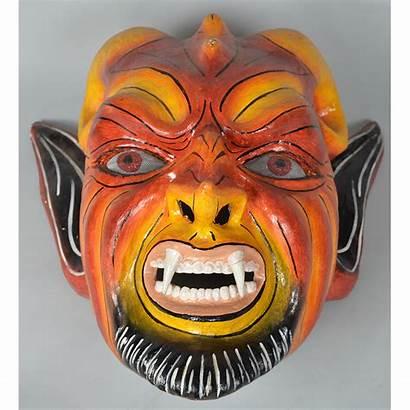 Mask Peru Diablo America Latin Devil Face