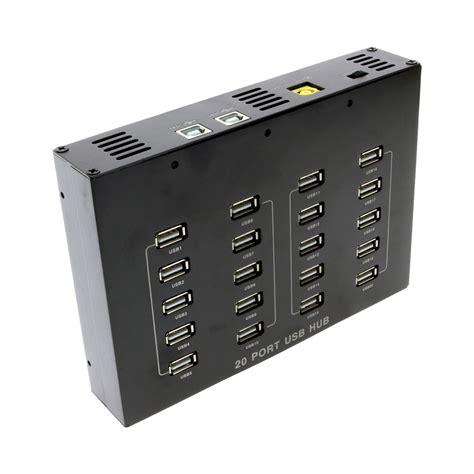 usb 2 0 7 ports hub usb 2 0 20 port hub with external power adapter