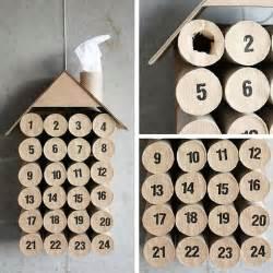 le calendrier de l avent en rouleaux de papier toilette