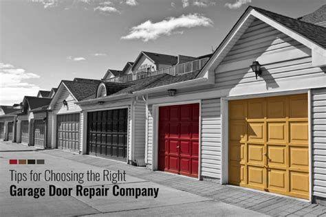 the garage door company 5 helpful tips when hiring the best garage door repair company