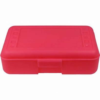 Pencil Box Pink Clipart Plastic Case Locker