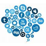 Social Transparent Redes Medium Format