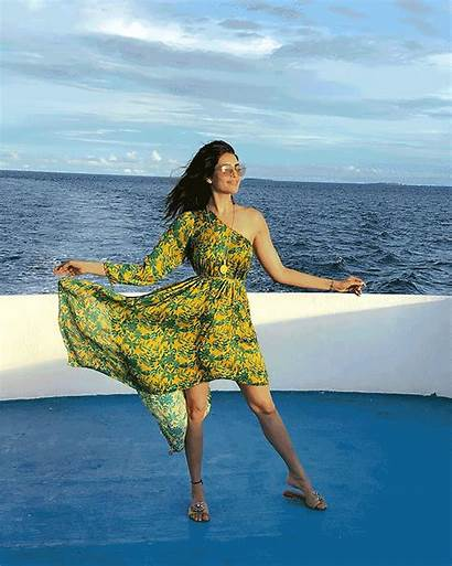 Bikini Shoot Maldives Karishma Boat Pix Rediff
