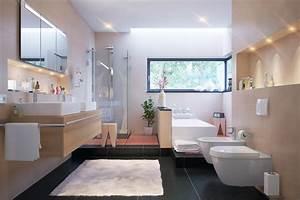 Salle de bain taupe et chocolat for Salle de bain design avec résine décorative pour sol