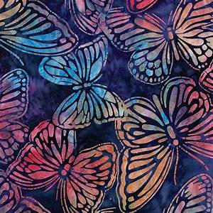 BUTTERFLY WILDLIFE BATIK FABRIC- Product Details