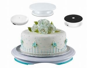 Plateau Pour Gateau : plateau tournant pour cake design lequel choisir cook ~ Teatrodelosmanantiales.com Idées de Décoration