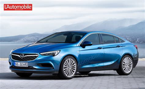 This Is How The New Opel Insignia Will Look Like
