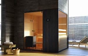 Holz Für Sauna : sauna in holz und transparentem glas f r schwimmbad idfdesign ~ Eleganceandgraceweddings.com Haus und Dekorationen
