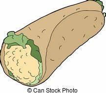 Wrap sandwich Stock Illustration Images. 376 Wrap sandwich ...