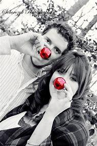 couples christmas photography ideas