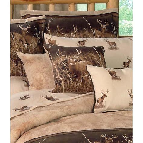 deer comforter sets blue ridge trading deer meadow comforter bedding set