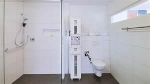 Behindertengerechtes Bad Maße : behindertengerechtes bad barrierefrei bauen fertighaus ~ A.2002-acura-tl-radio.info Haus und Dekorationen