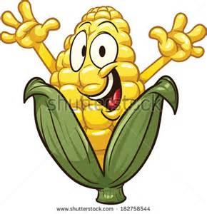 Cartoon Corn Clip Art