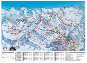 Ski en snowboard Ischgl - piste kaarten, vervoer