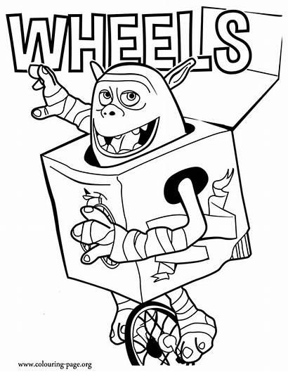 Boxtrolls Coloring Wheels Zum Ausmalbilder Imprimir Picles