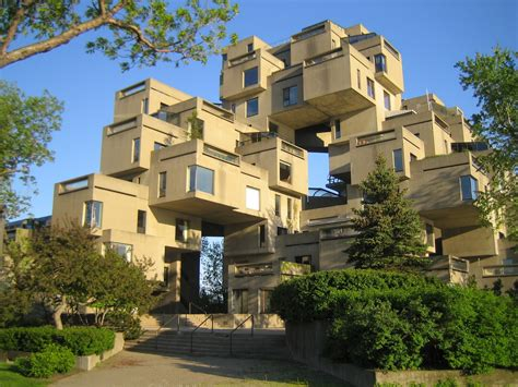 Habitat 67 # 3 By Moshe Safdie Cube Modern Architecture