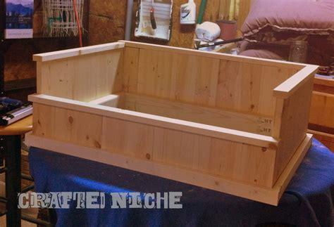plans   makewooden dog beds  build wood