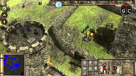 stronghold  gameplay pc hd youtube