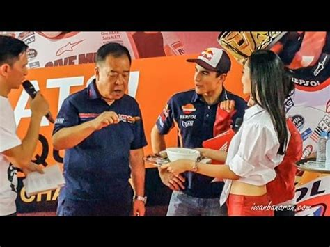 Marc Marquez Makan Bakso Bareng Shuhei Nakamoto Hrc