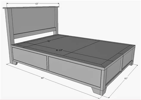 The Queen Size Bed Dimensions In Feet