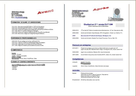 exemple cv 2 pages cv anonyme