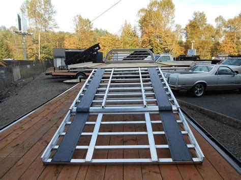 Sled Deck Wood by Inventory Trailers Nw Trailers Utility Cargo And