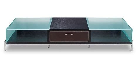 frosted glass tv cabinet contemporary frosted glass and wood tv stand on chrome