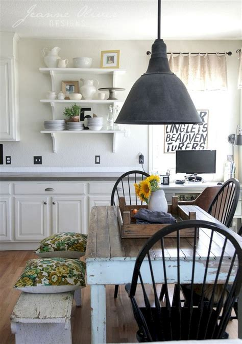 45 Most Wanted: Farmhouse Kitchen Decorating Ideas for