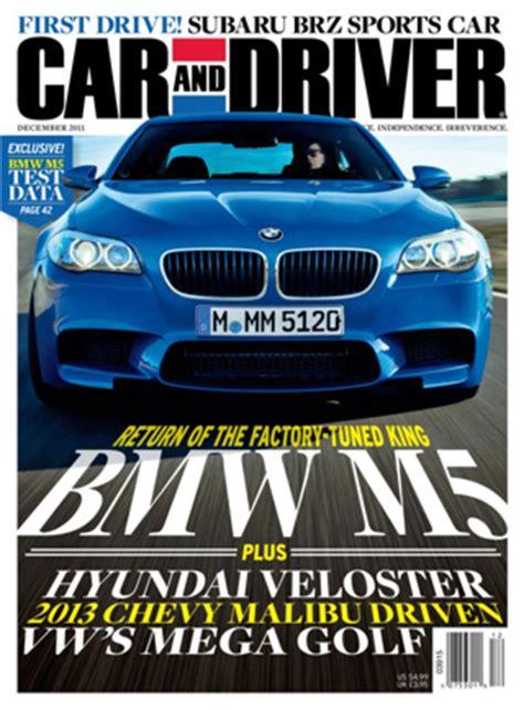 Car And Driver Magazine Media Kit Info