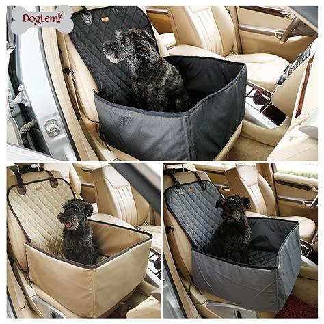 si鑒e auto pour chien 2016 nouvelle arrivée pliable pet transporteurs sac de rangement étanche sécurité devant dos siège chien voiture hamac transporteur