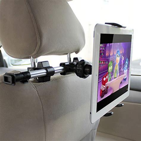 support tablette voiture entre 2 sieges ikross support appuie tête de voiture universel pour