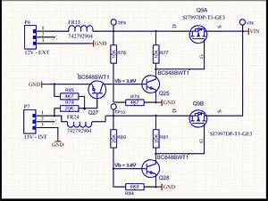 Input - P-mosfet Based Automatic Power Selector