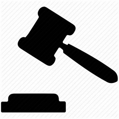 Gavel Judge Hammer Law Symbol Icon Sign