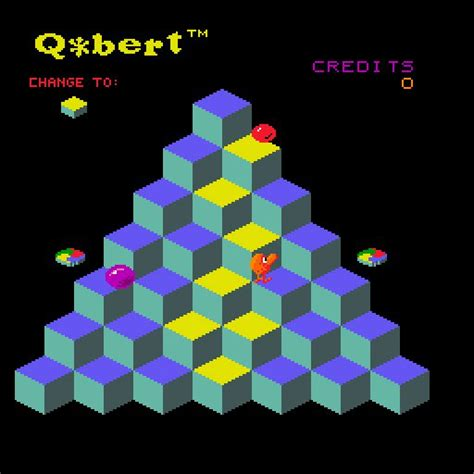 mac os names q bert 1982 arcade game